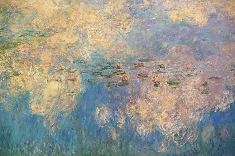 FR413 - Paris: Detail from Monet mural