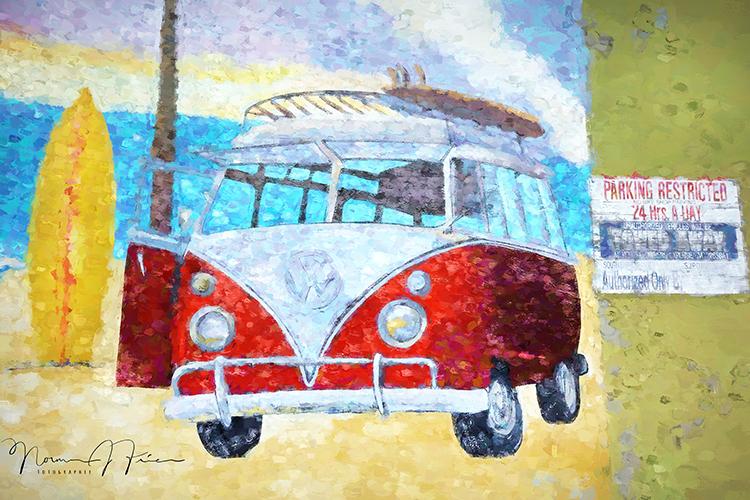 WG620: VW bus parks anywhere