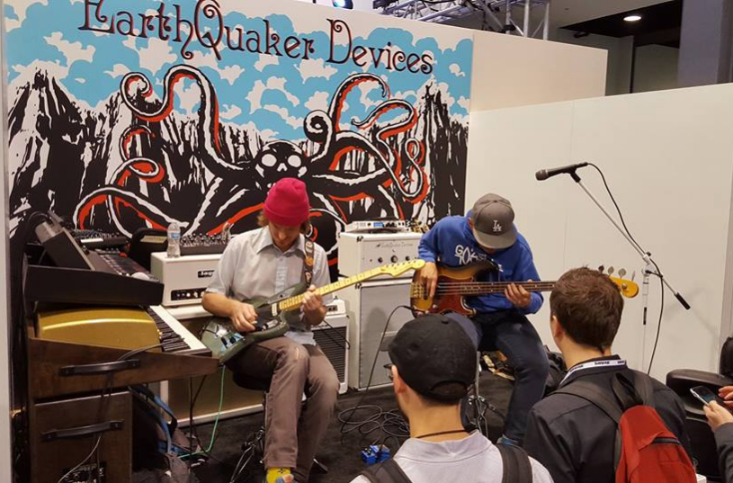 Photo credit: Premier Guitar (from NAMM 2017)