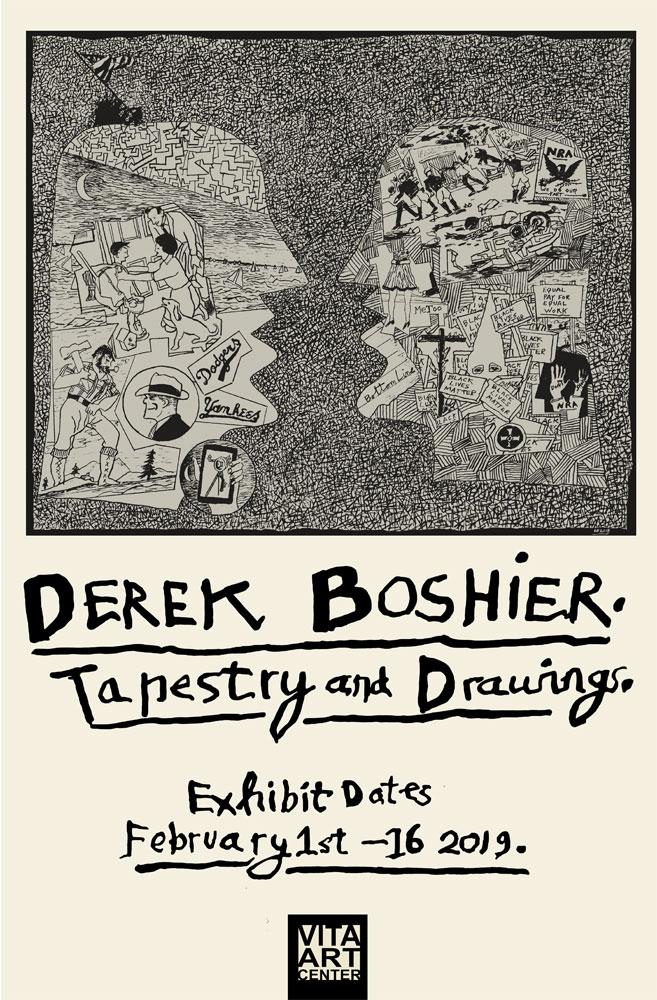 DEREK BOSHIER, February 1 thru February 16, 2019
