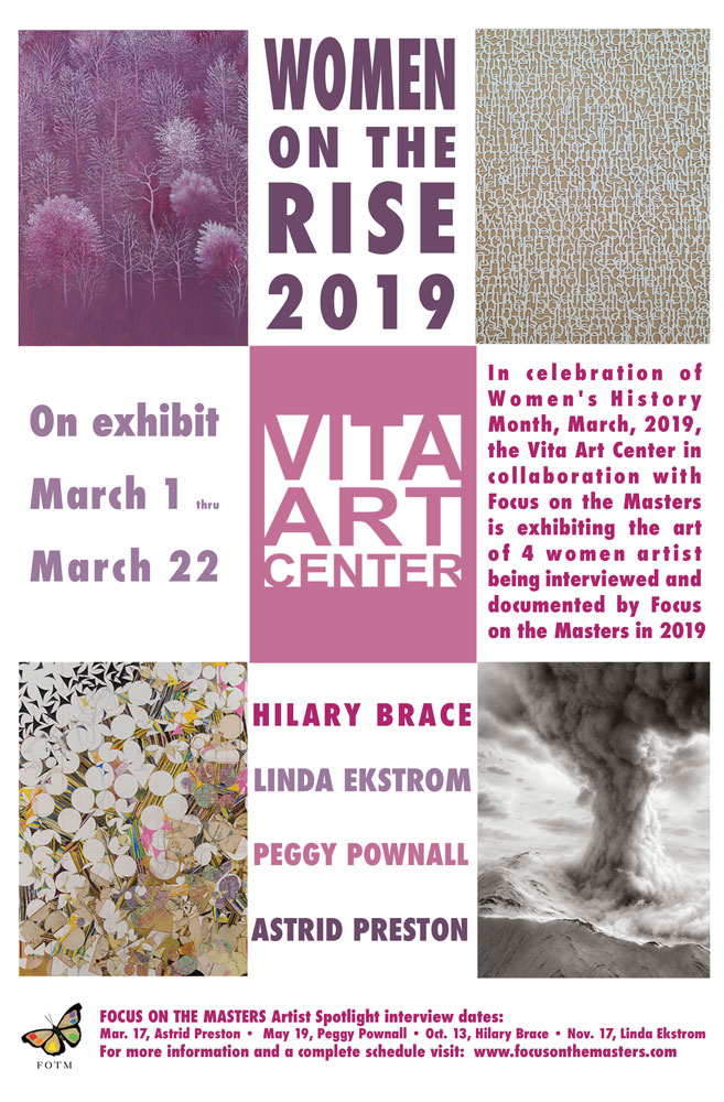 Women On The Rise, March 1 thru March 22