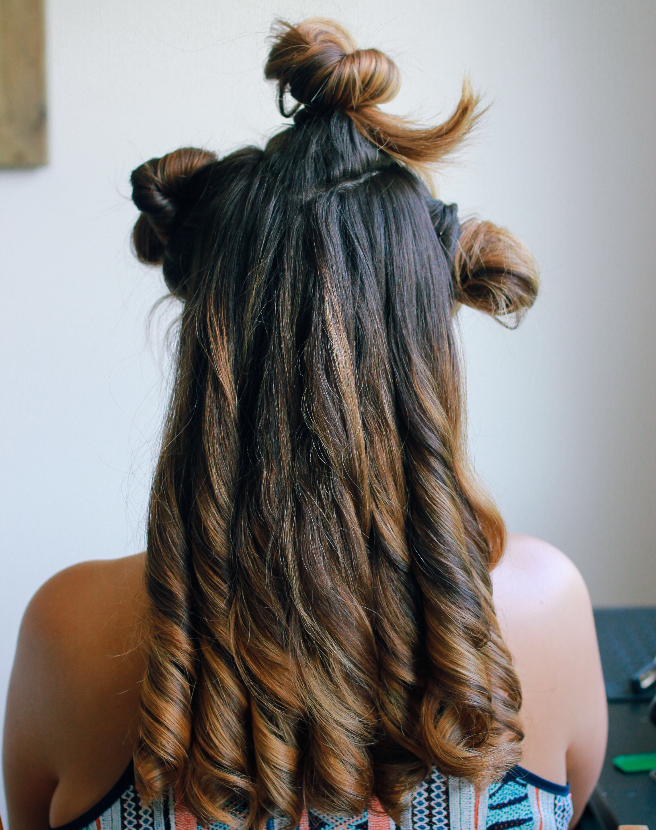 Curled section