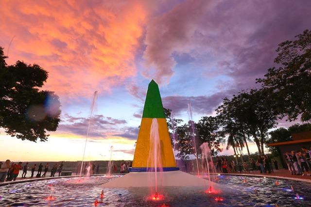 Iguassu Three Frontiers Landmark
