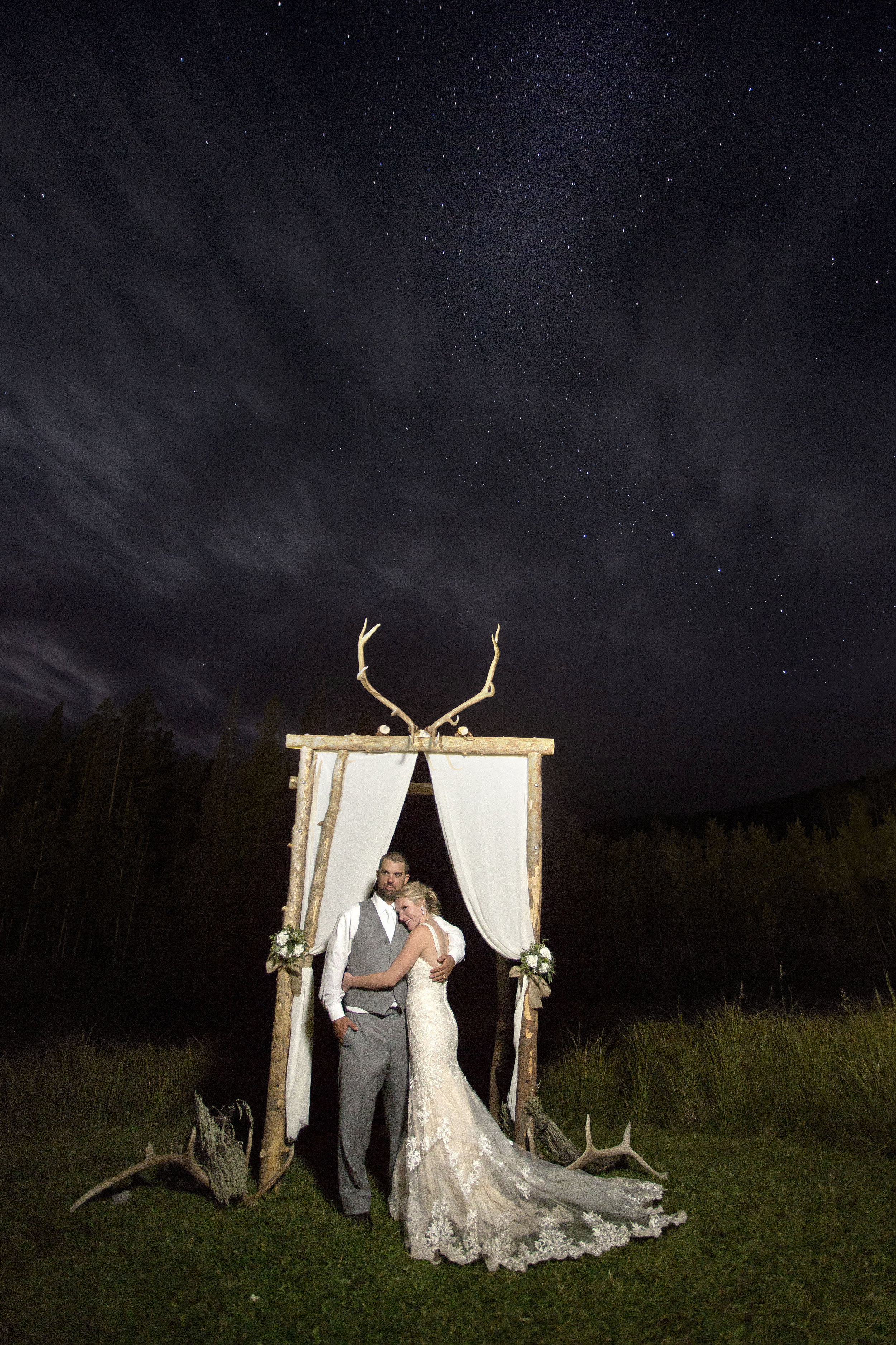 Wedding Night Portrait