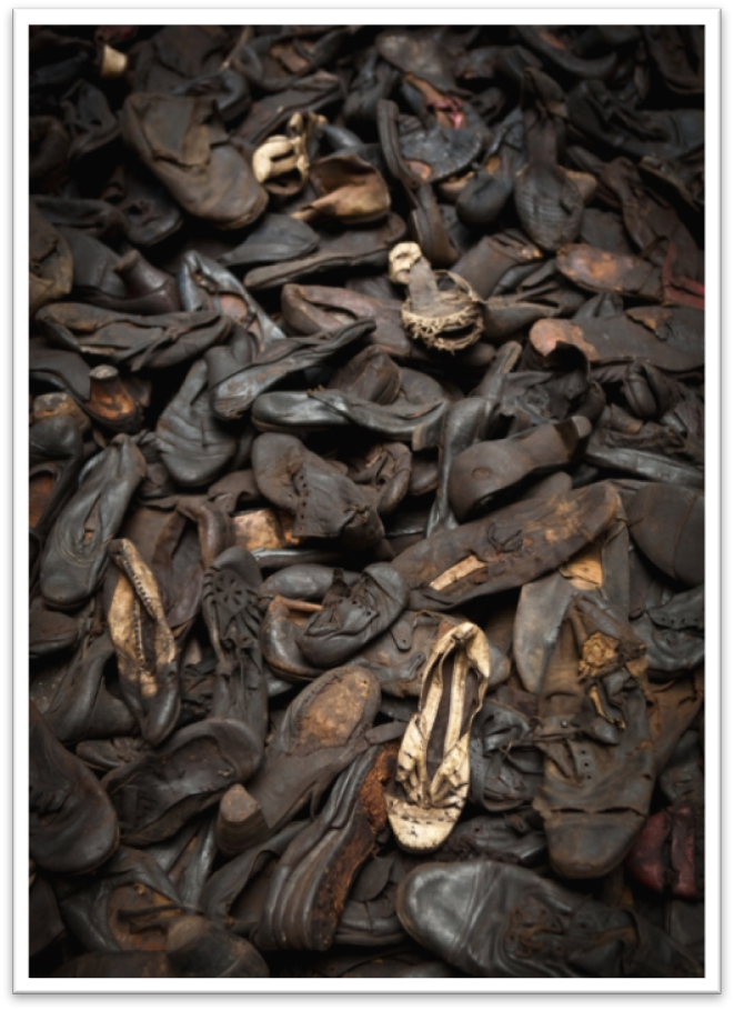 Shoes Confiscated from Prisoners at Majdanek
