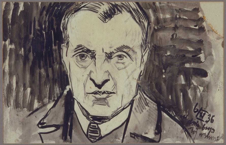 Self Portrait. Moshe Rynecki (1881-1943)