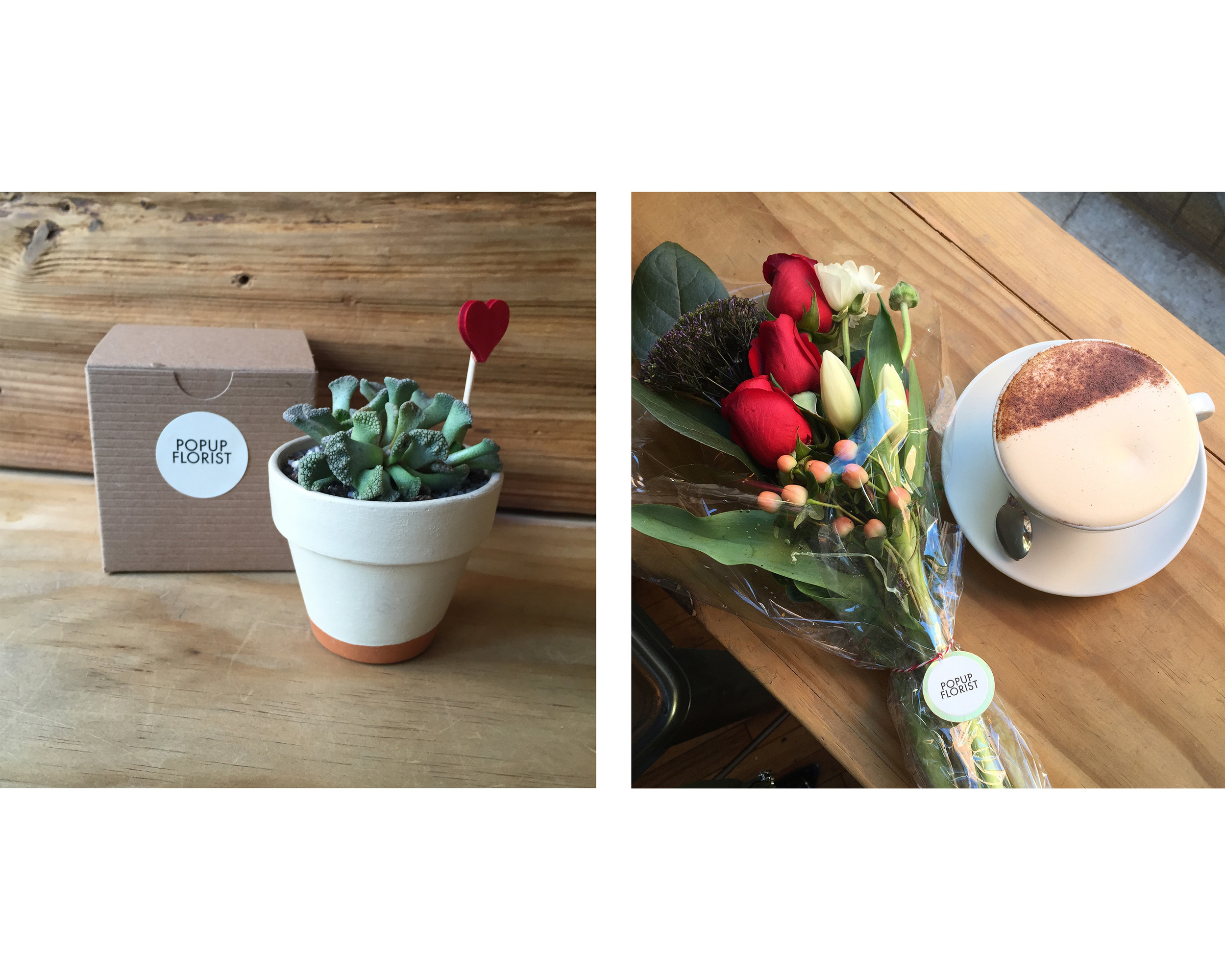 POPUPFLORIST Valentine's Day 2016 at The Elk