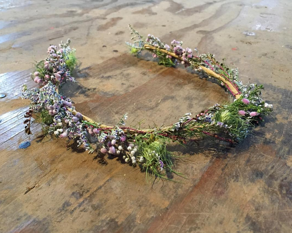 Floral Hairpiece for Barneys NY