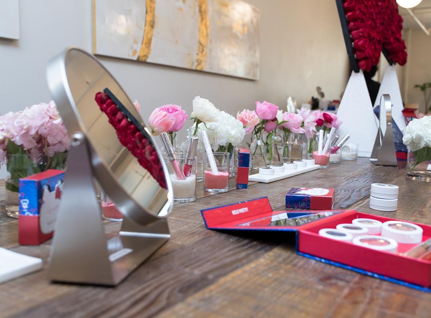 Hello Kitty x Colour Pop Cosmetics NYC Launch, November 2016