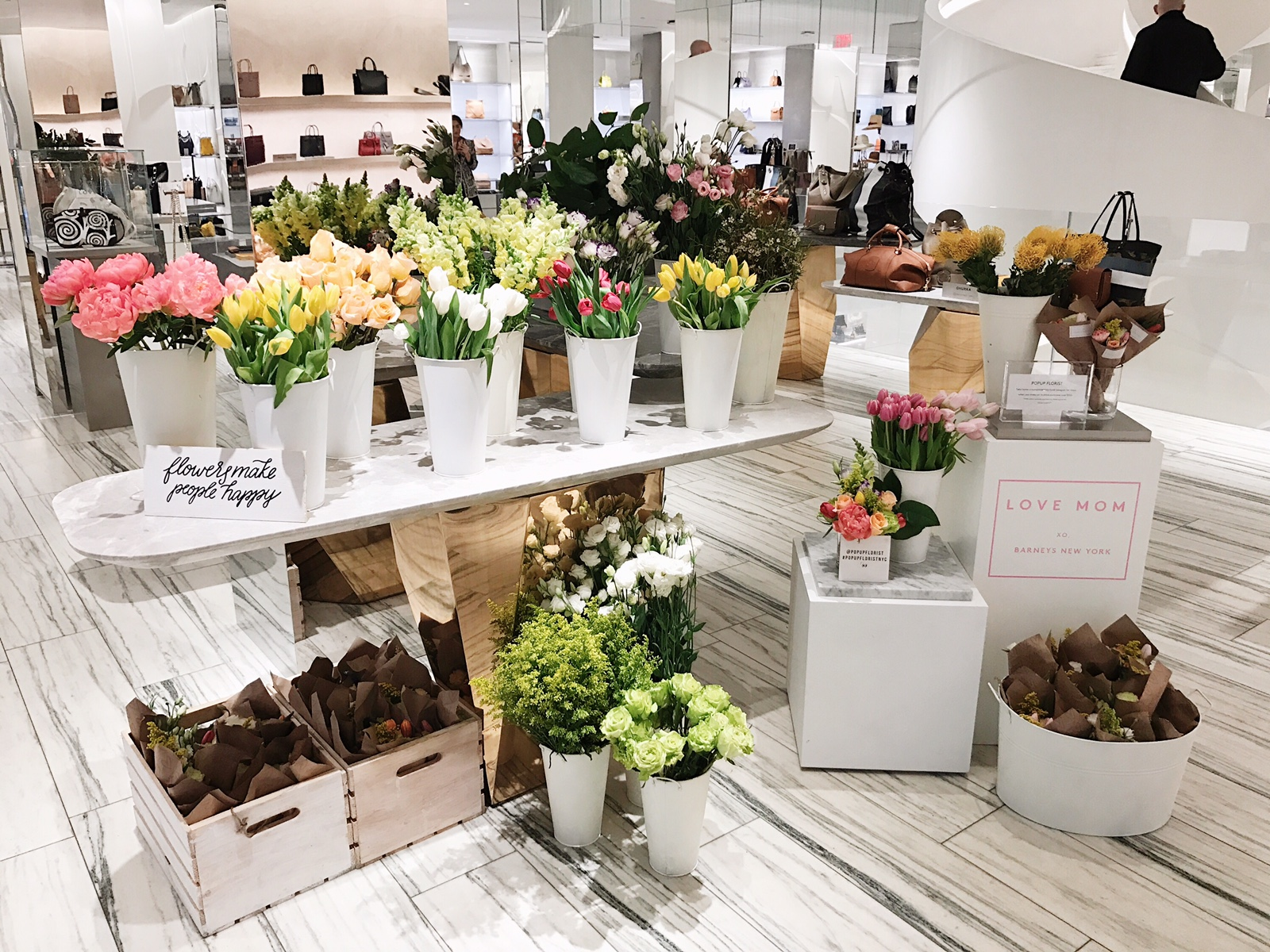 Barney's Chelsea Mother's Day Popup