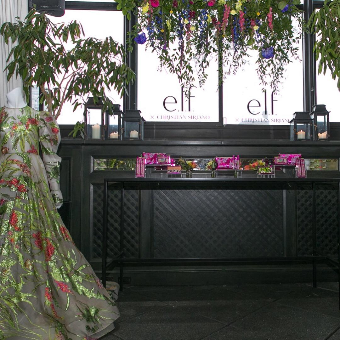 Elf x Christian Soriano Beauty Launch