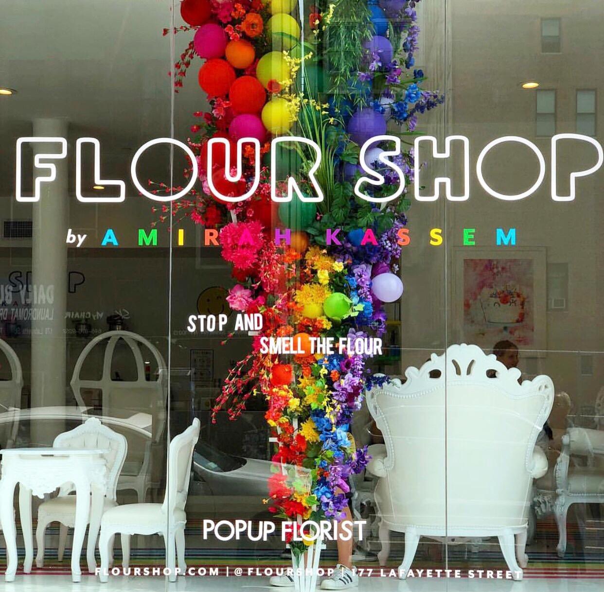 Flourshop Mothers Day Window Installation