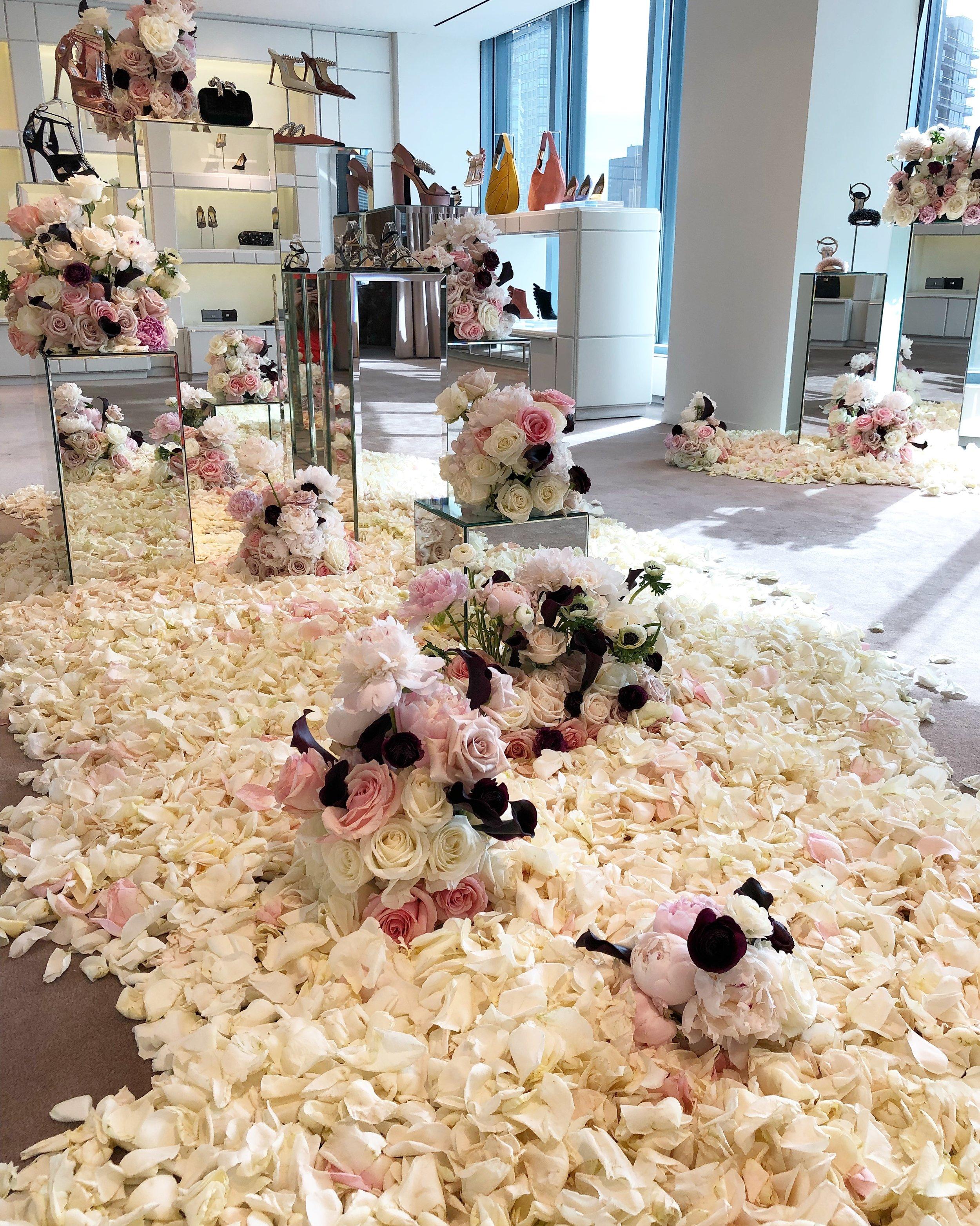 Jimmy Choo Showroom Installation