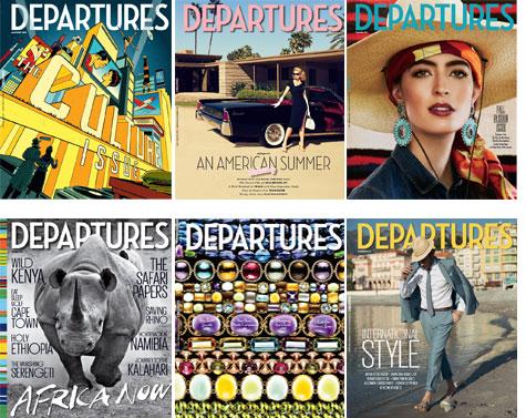 Departures' editor Heather Halberstadt will send you places.