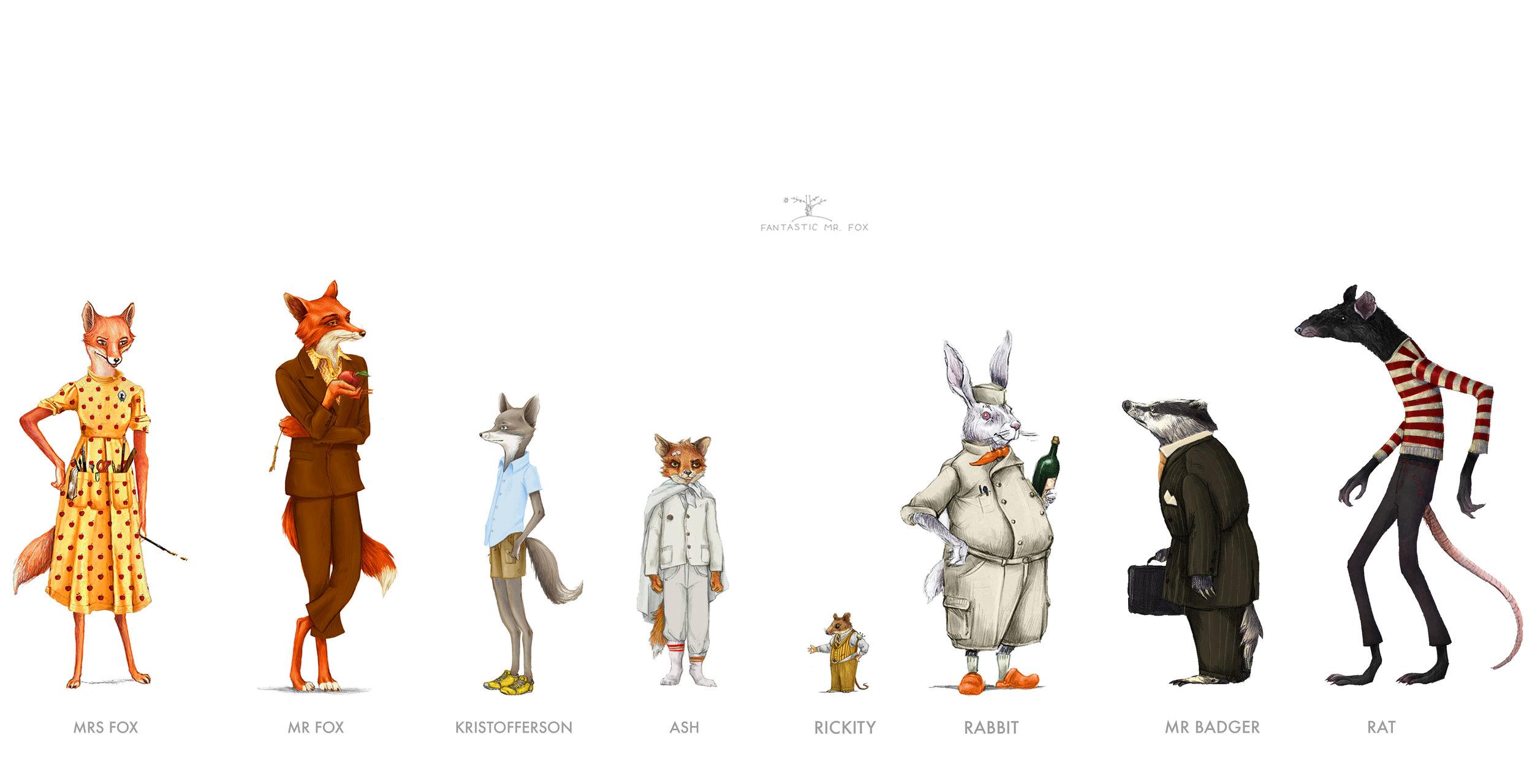 Fantastic Mr Fox Felicie Haymoz