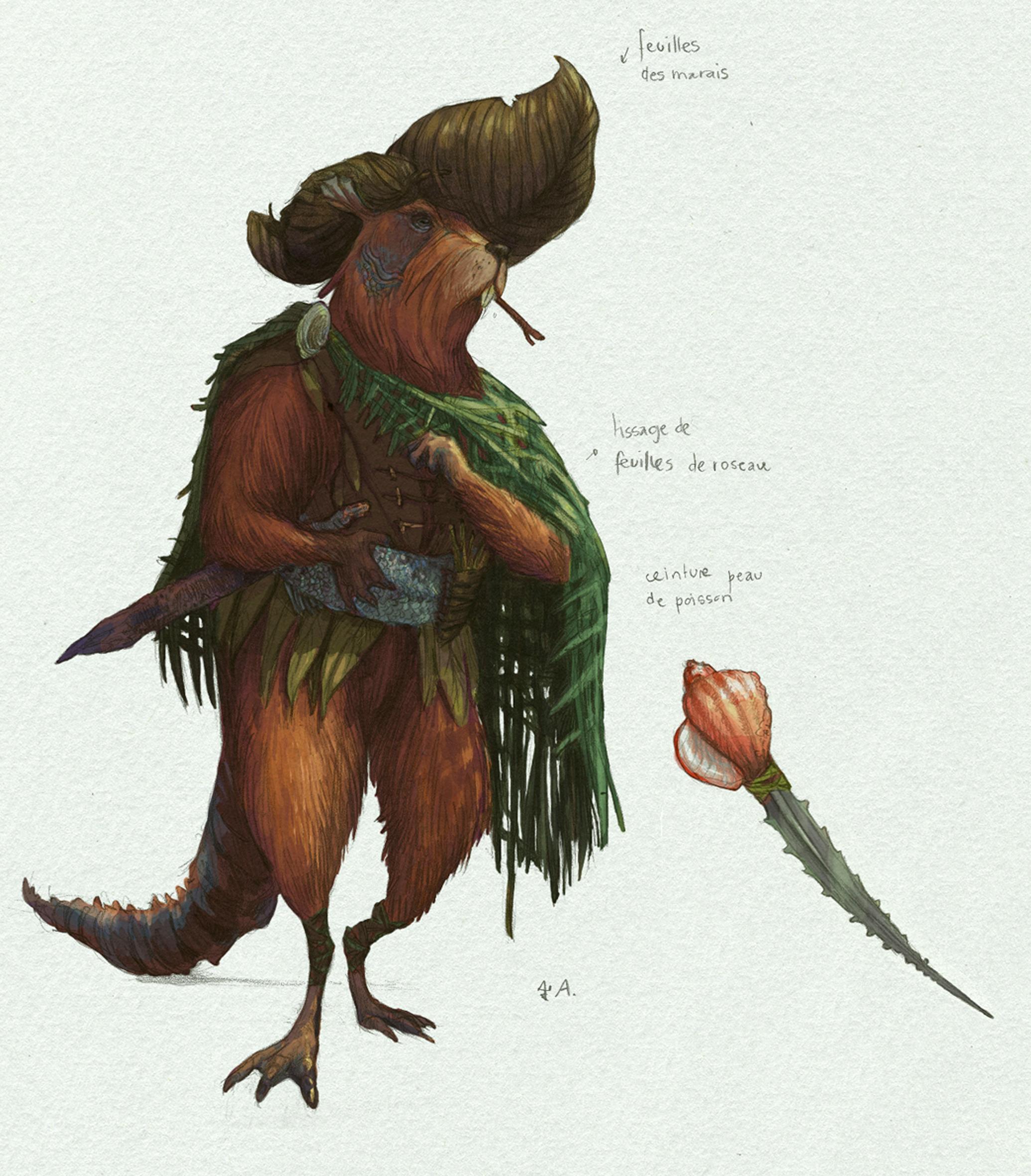 Mutant beaver design
