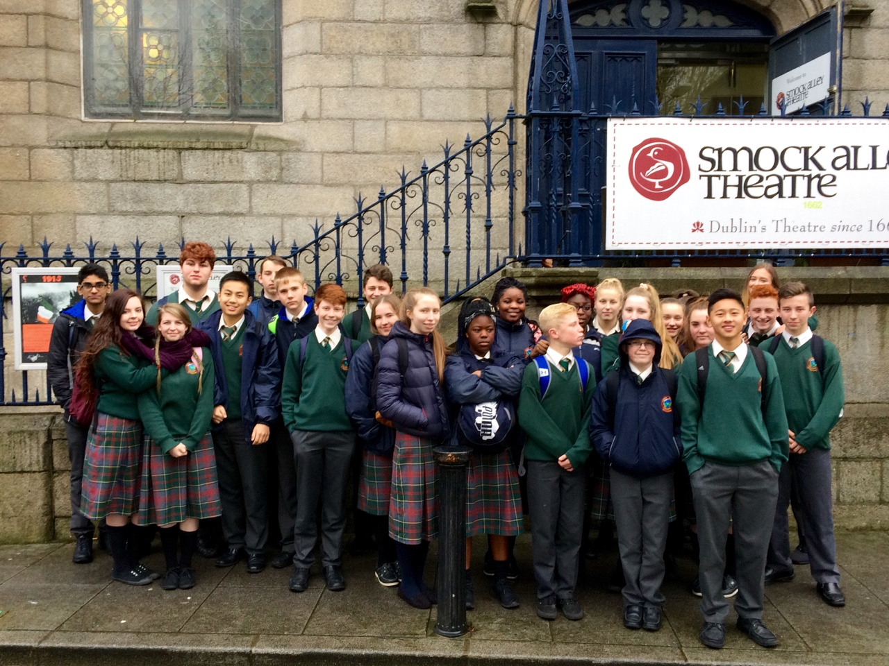 """Third year students took a trip to see Romeo & Juliet at the Smock Alley Theatre in Dublin. This was followed by a workshop where we got to learn more about the play of the """"star-crossed lovers"""""""