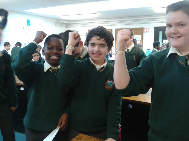 Science Table Quiz - The Winners!!