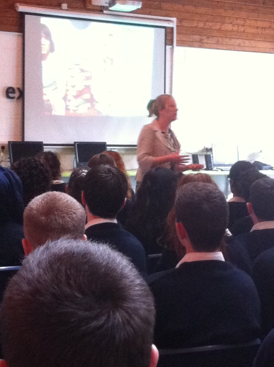 Sheila Purcell Deputy Admissions Officer Maynooth University met with the 6th years students today. She spoke  about student life in Maynooth and the wide range of courses offered. Coláiste Chiaráin is one of the main feeder schools for Maynooth University.
