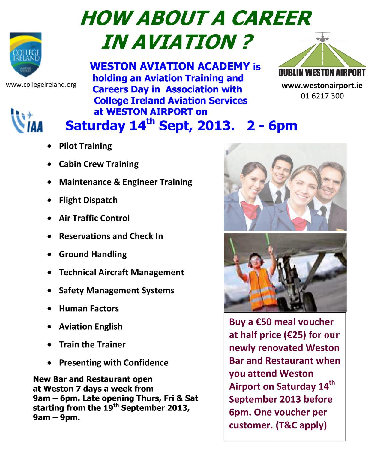 Aviation Careers Exhibition