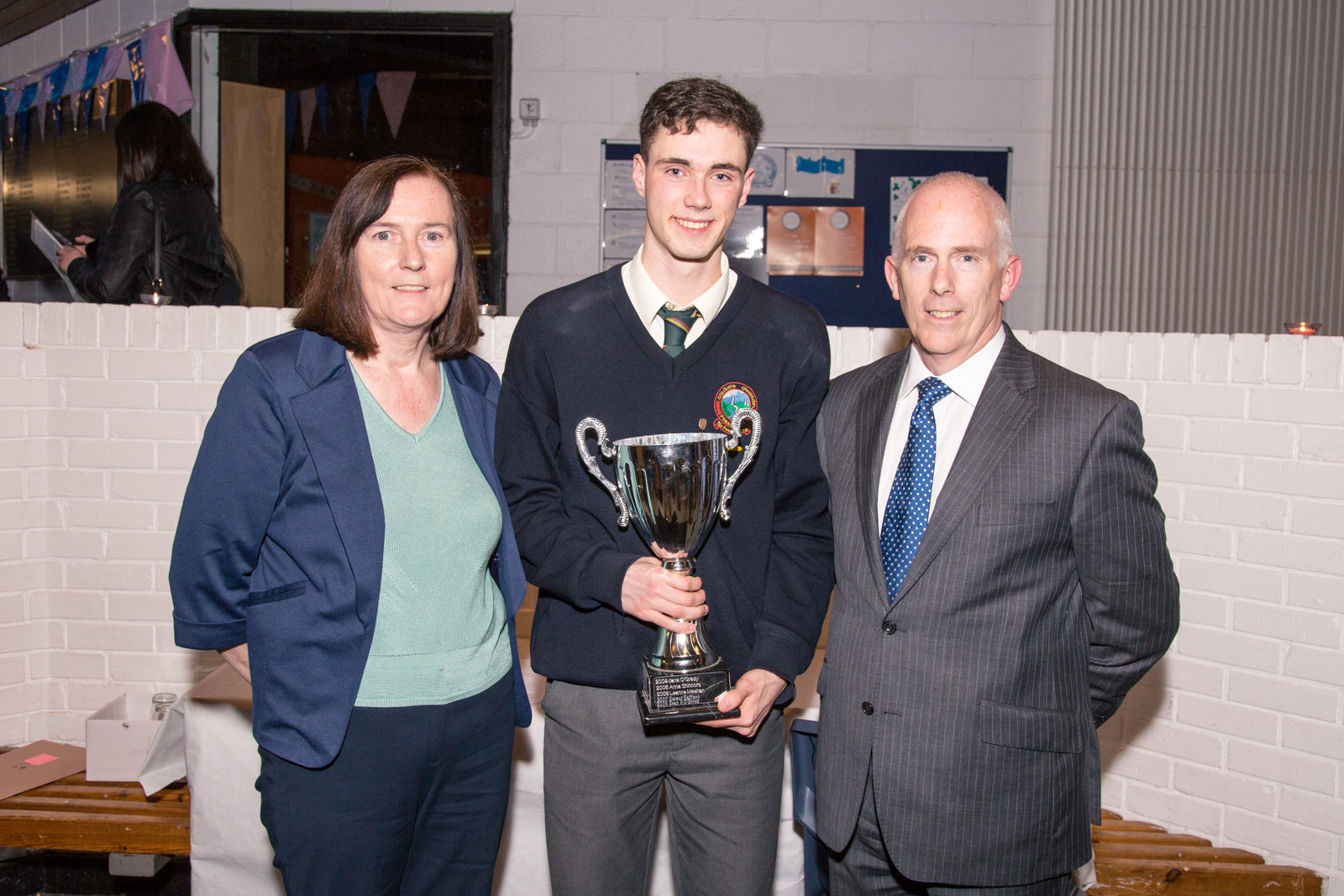 Conal Hayes. Overall Student of the Year 2016
