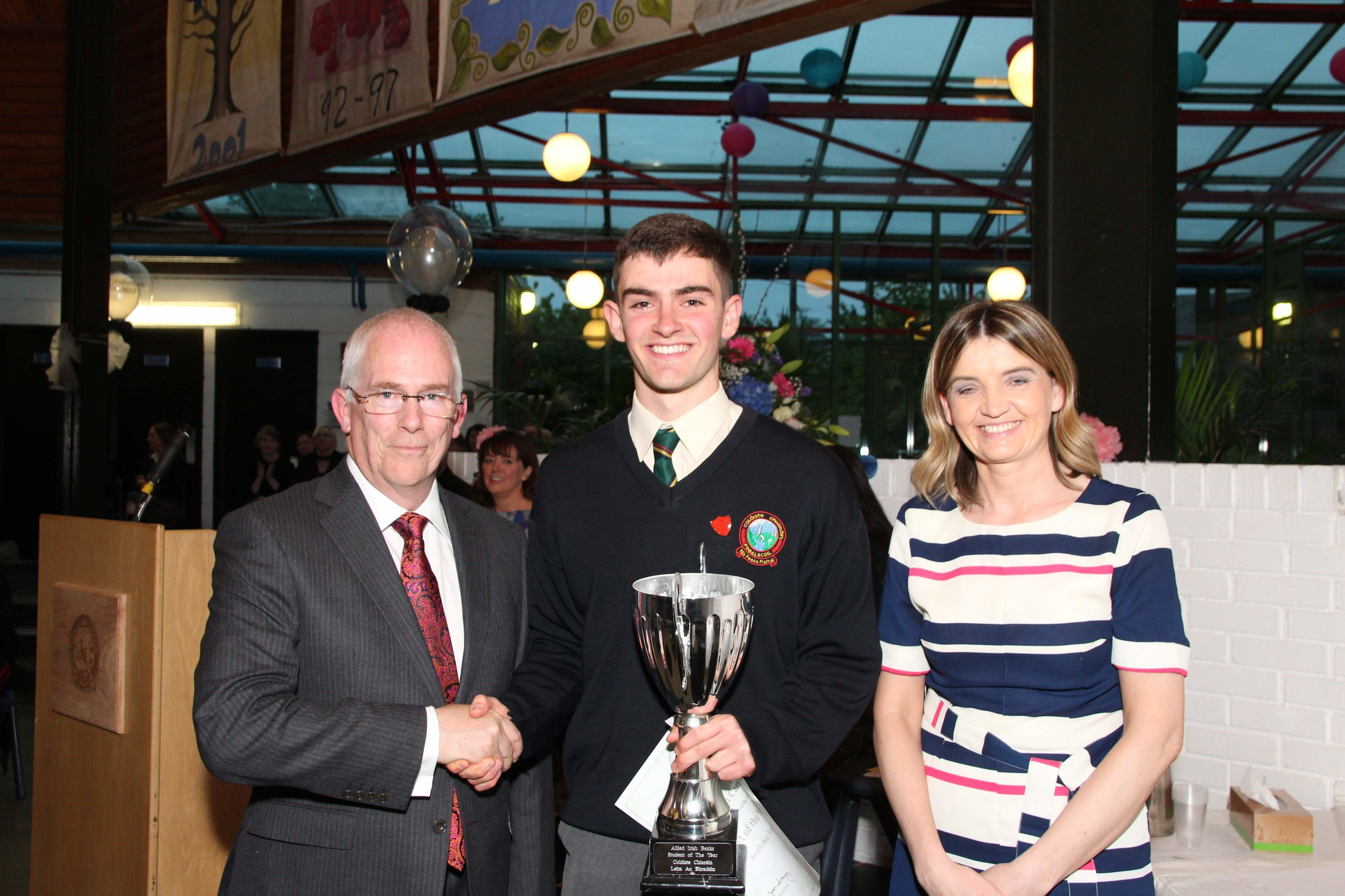 Nathan Carney. Overall student of the year.