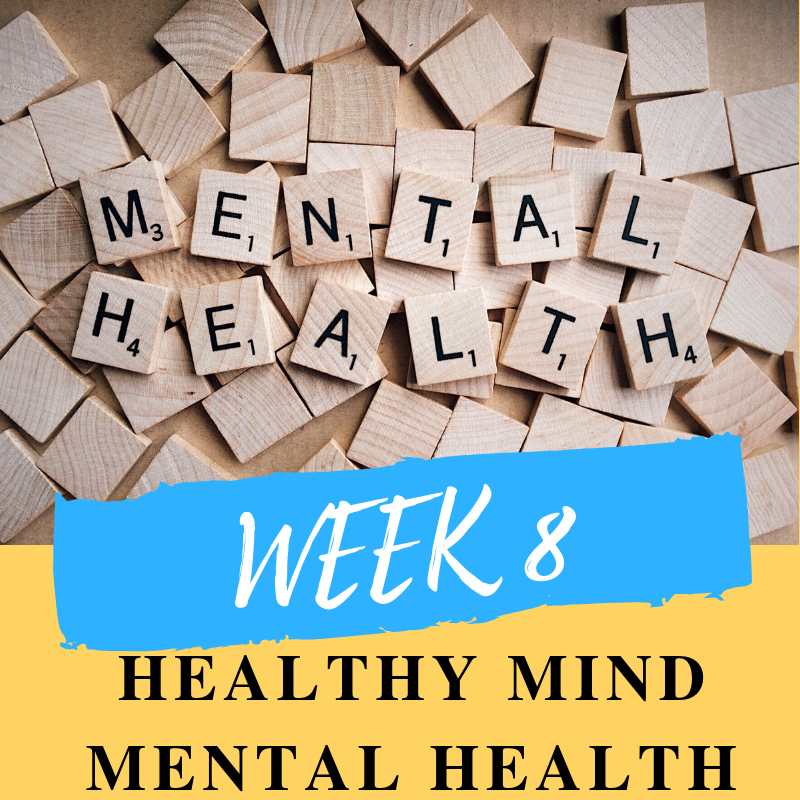 This week we will talk about the importance of looking after your mental health and staying mentally healthy.