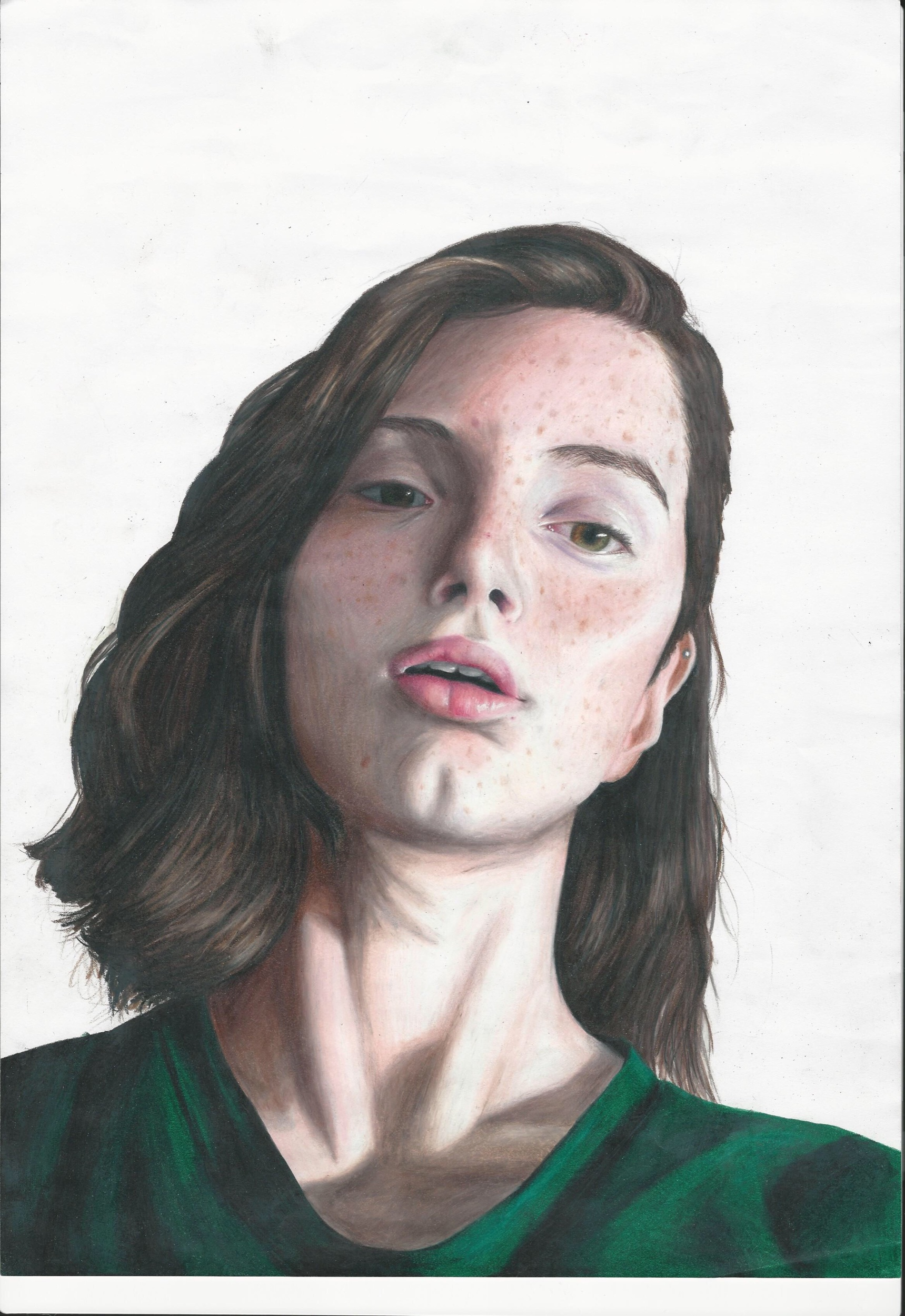 Green Jumper by Tara Neville Moynihan