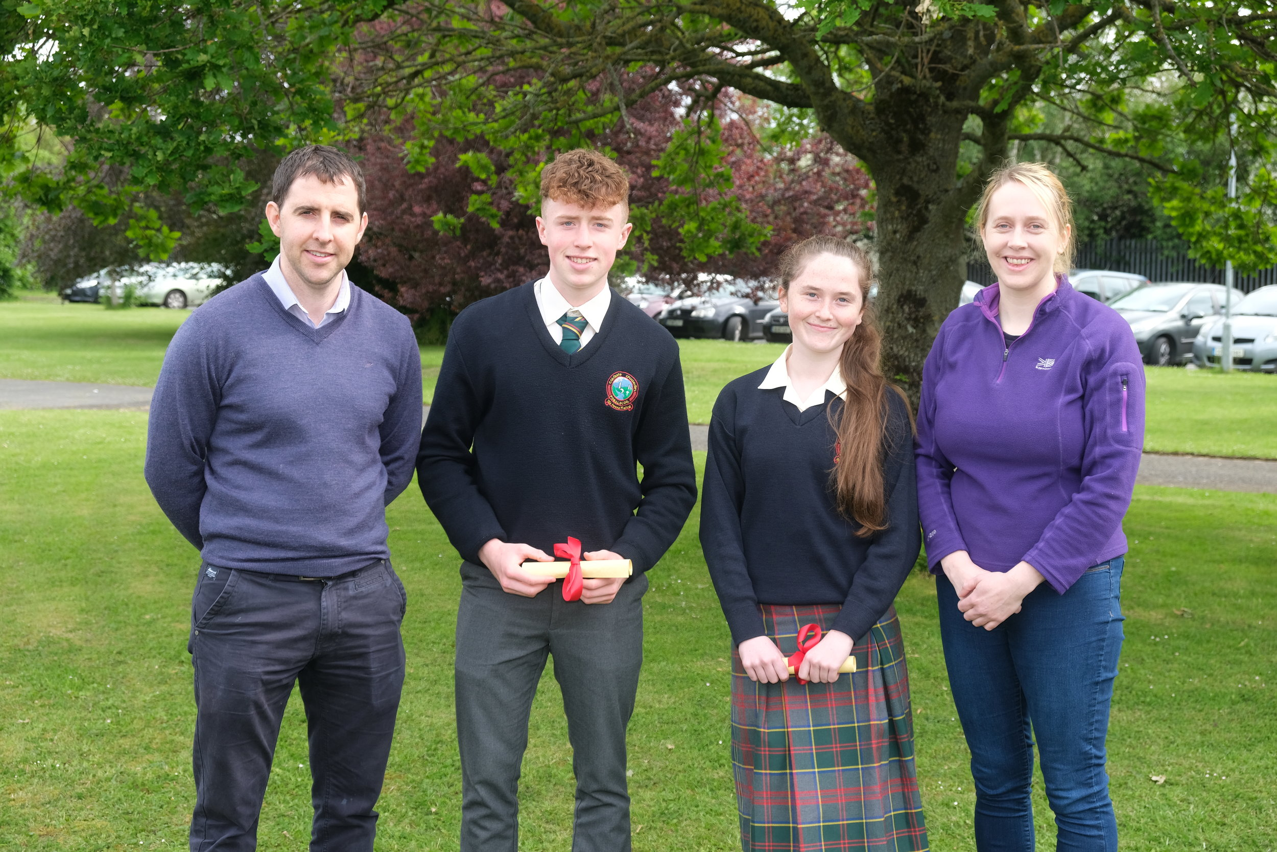 Sports Personality  Darragh Melville , Kayla Cleary