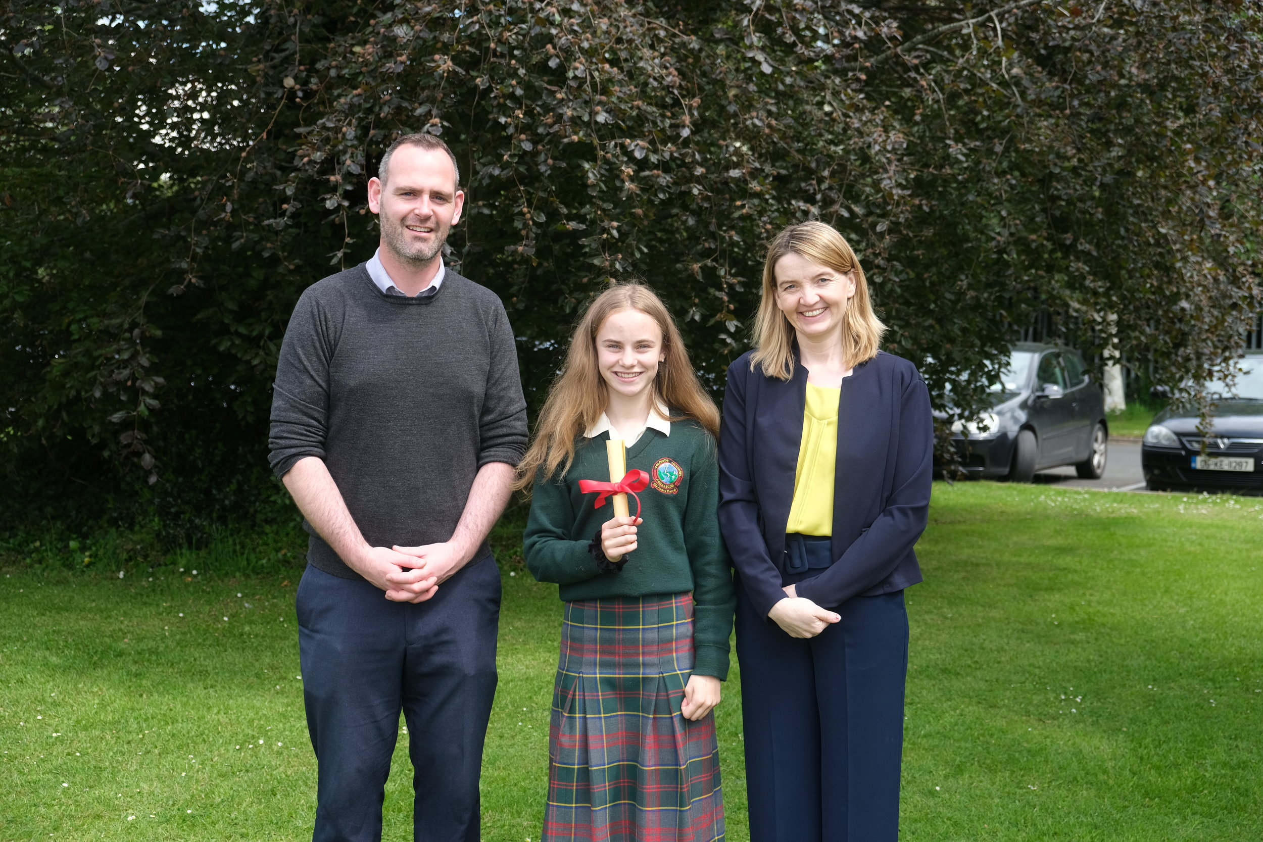Gradam Gaeilge Award  Sean Cotter, Jodie Lawlor, C.Mhic Dhonncha