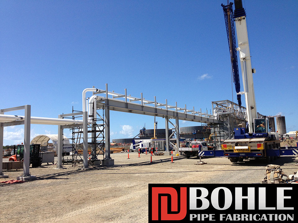 Bohle-Pipe-Fabrication-Fuel-Farm-Townsville-Queensland-Pressure-Piping-Process-Piping-Pipe-Welding-Steel-Stainless