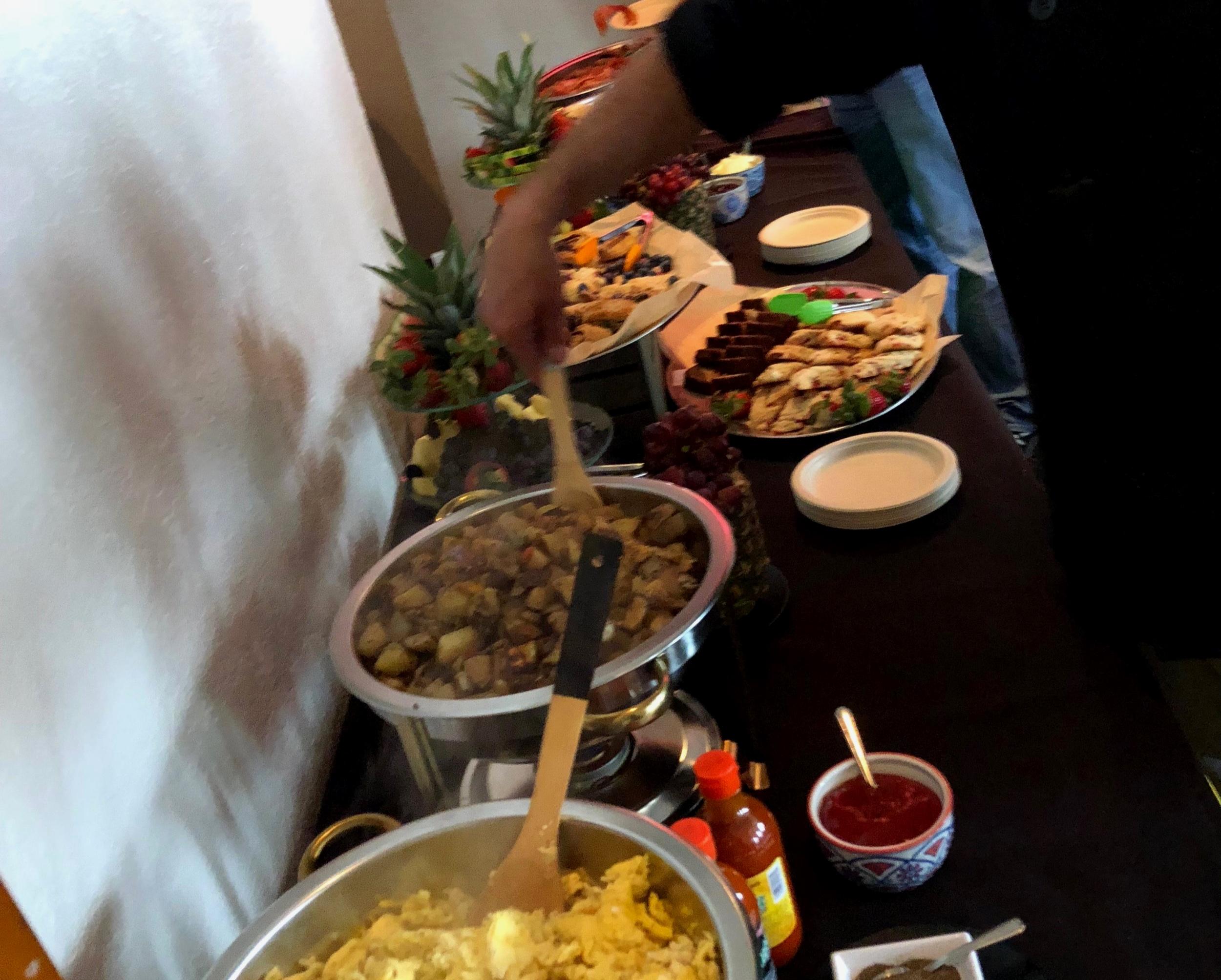 anniversary brunch buffet