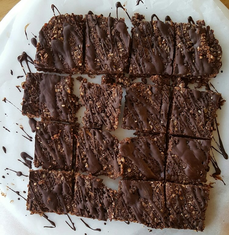 Chocolate Protein Energy Bar - Natalie Brady