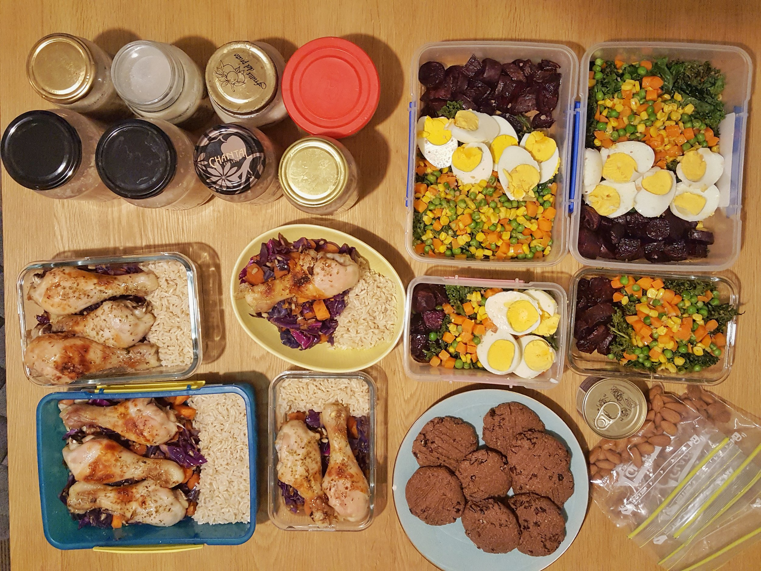 Meal Prep: What I Made This Week - Natalie Brady Food Prepping