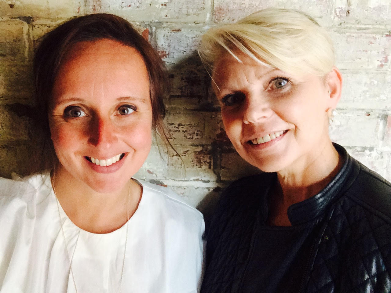 YOGADOO founder, Lucy Aston (L) and Parenting Expert, Jane Evans  (R)