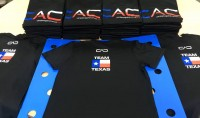The back of the shirt, sporting the Team Texas logo.