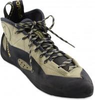La Sportiva's throwback looking shoe, the TC Pro.