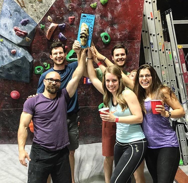 Last year's winners, Team Magic Yoda Vibes!