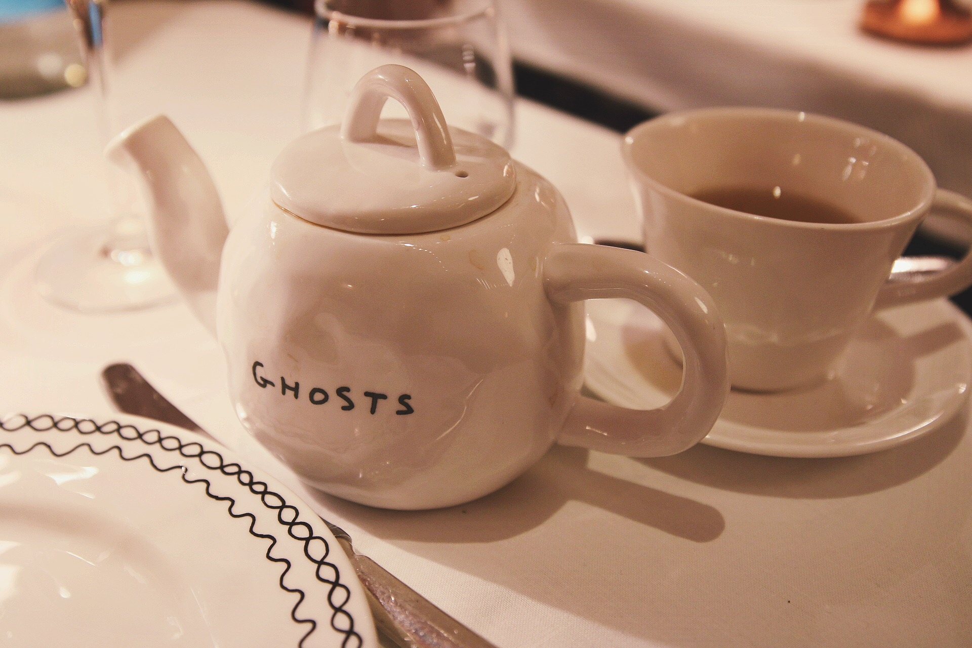 Sketch tea room