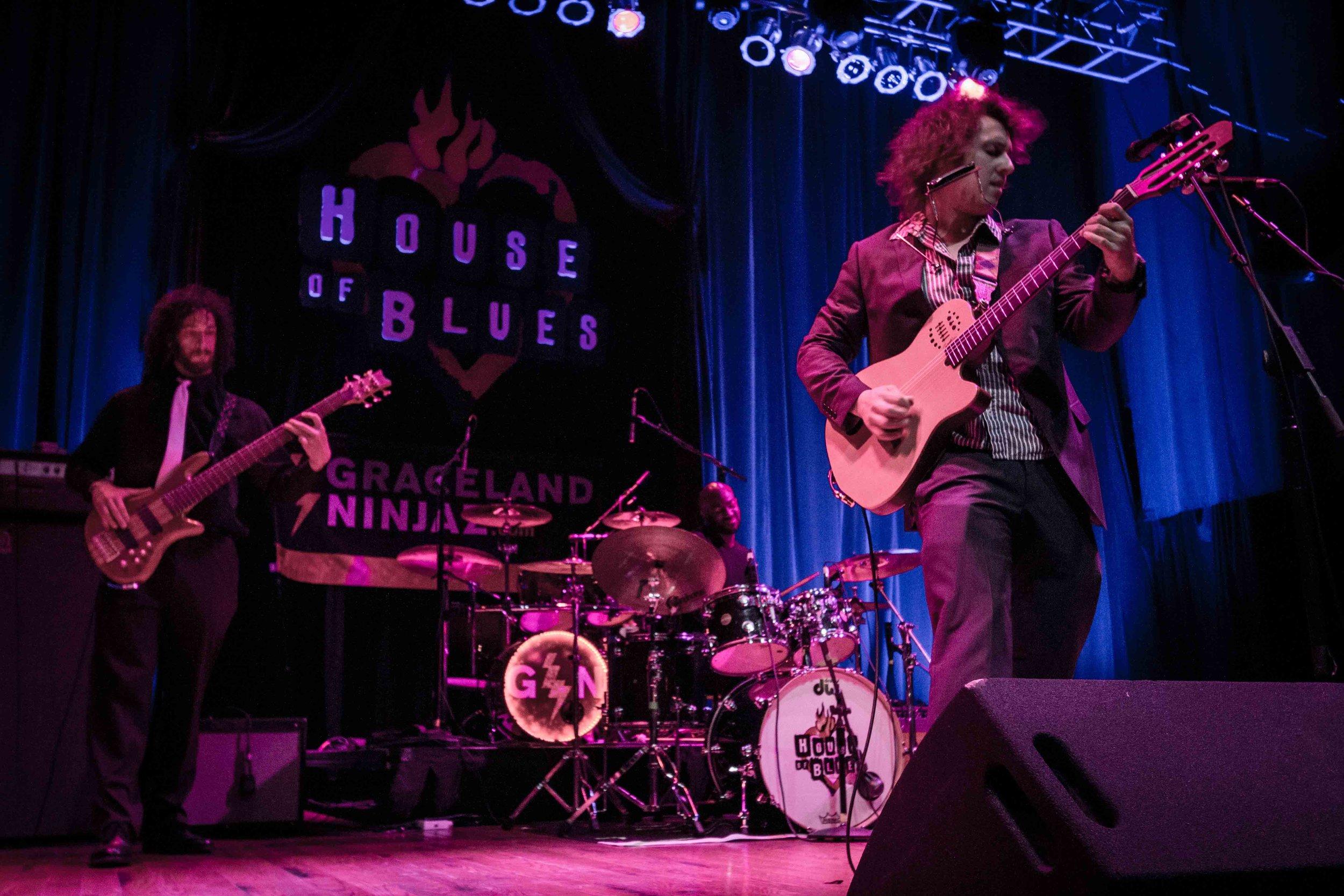 Michael Anthony Shanks House of Blues