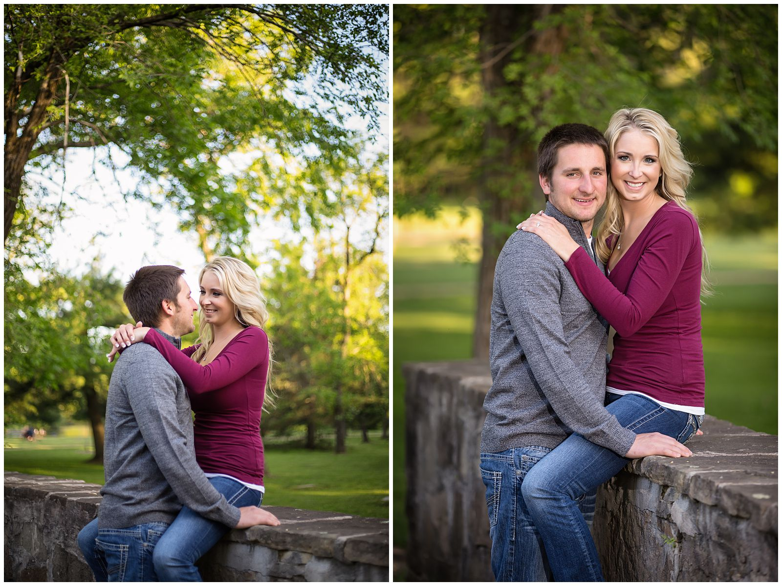 Ashley and Andrew Engagement