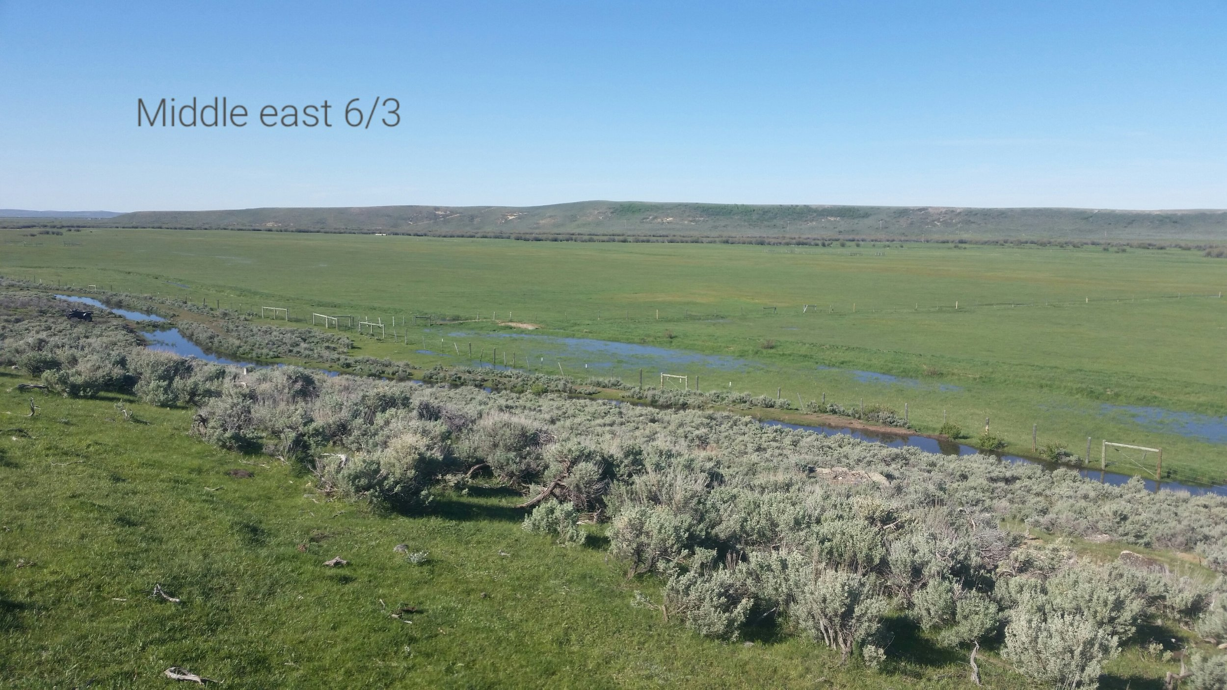 habitat restoration and water resource planning on private ranch
