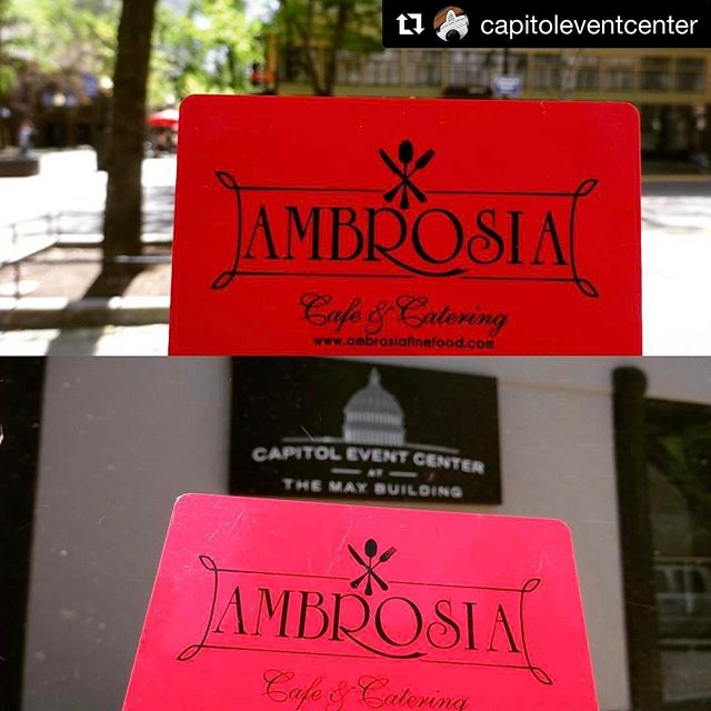 #Repost @capitoleventcenter with @repostapp ・・・ April Giveaway: $25 Gift Card to @ambrosiafinefood on K!  Like and Follow @capitoleventcenter this month to enter yourself to win!  Winner announced MAY 1.  Capitol Event Center is just steps away from the K Street Entertainment Corridor where you can find some of Sacramento's best restaurants, bars, and entertainment. We'll be giving away gift cards to all the best places just around the corner from Capitol Event Center every month. Like, follow, and keep your eyes peeled for our Monthly Gift Card Giveaway!  #sacramento #sacramentoproud #downtownsacramento #kstreet #thekay #events #eventprofs #meeting #conference #convention #visitsacramento #giveaway #catering #ambrosiacafe #eventplanner #eventplanning #mpi #mpissn