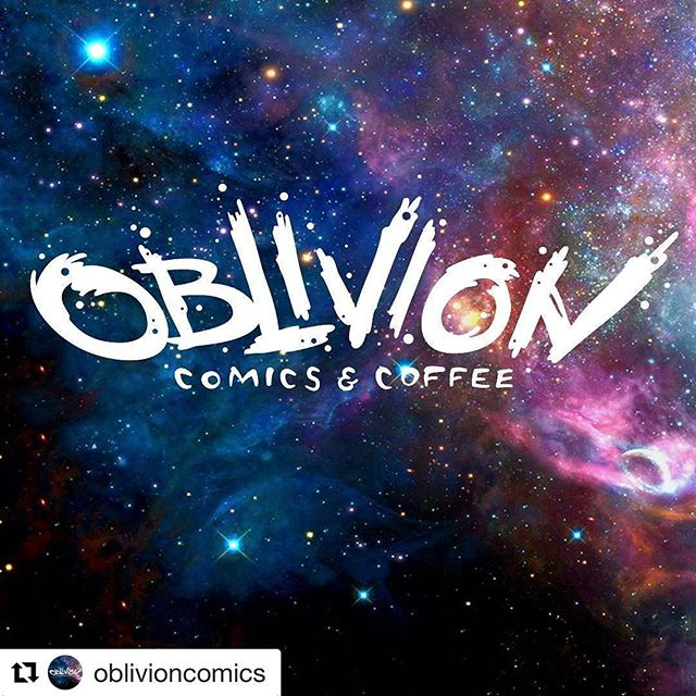 We can't wait for @oblivioncomics to open @themaybuilding and right below @capitoleventcenter  So close!  #Repost @oblivioncomics with @repostapp ・・・ We're super excited to share our new logo with you! Designed by the lovely people of @MeringCarson and @Emcee11d, we knew this was the one for us.  The obliterated lettering is energetic and exciting while the incorporation of space and galaxy imagery balances it out with a sense of awe, discovery, and inspiration. (Can you tell we're graphic designers? :-P)  We can't wait to open our doors! ----- #oblivioncomics #oblivioncomicsandcoffee #oblivioncc #logo #logodesign #logoredesign #brandidentity #graphicdesign