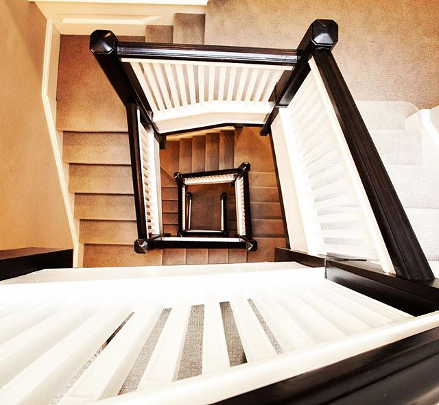 Stairway to home! 2 Apartments coming available this September! Contact for a tour, info in bio!