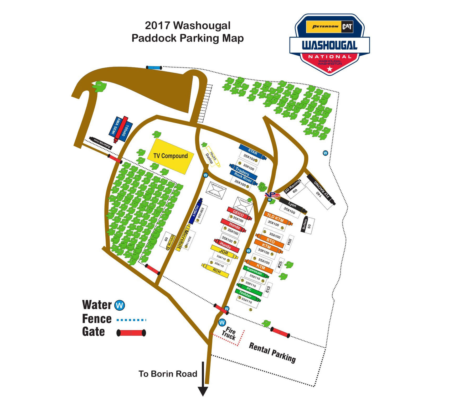 Paddock Parking -Click image to enlarge.