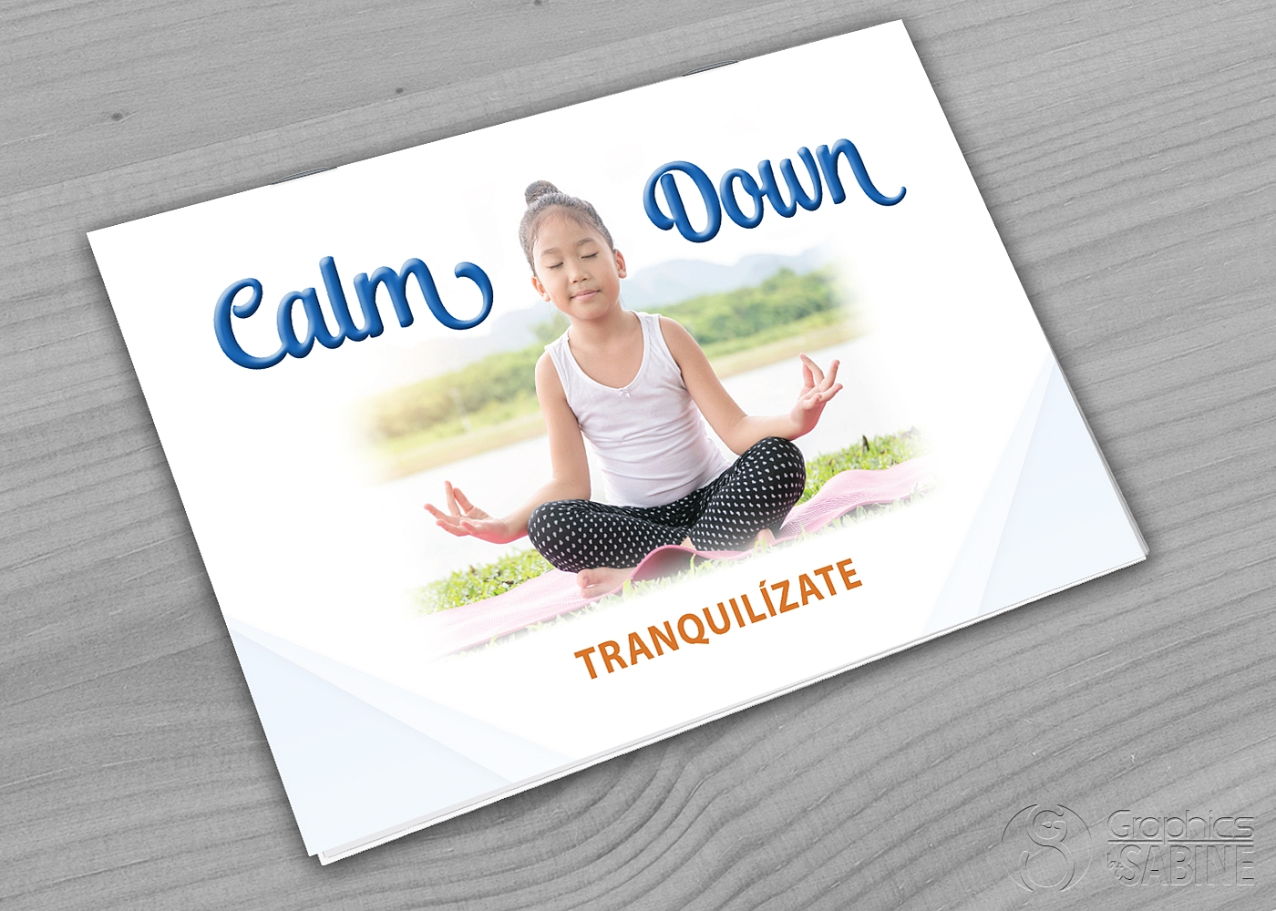 """Calm Down"" Booklet"
