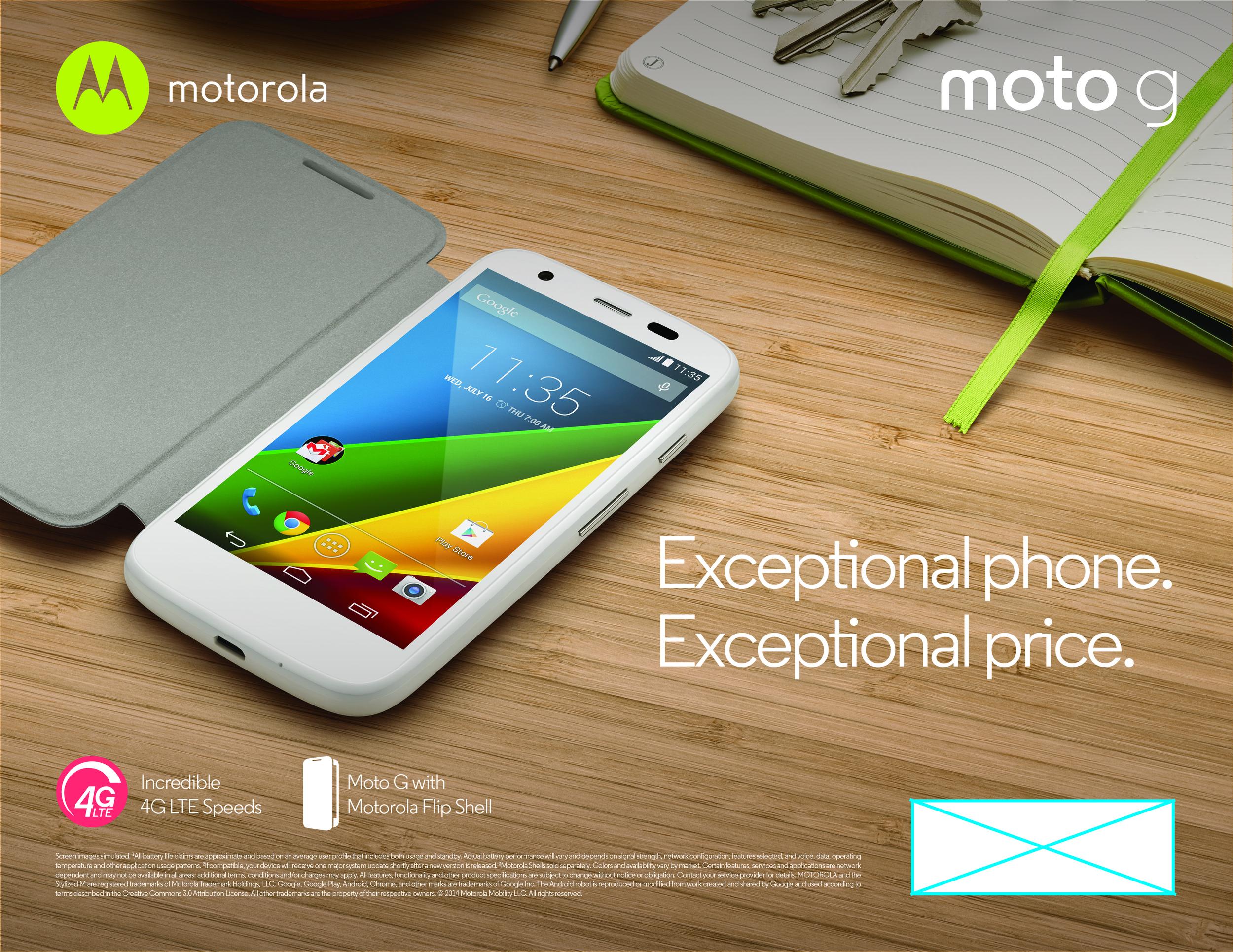 Moto G LTE Key Visual