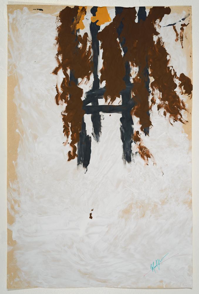 Alanis (diptych bottom)   acrylic on paper 87 x 57 cm