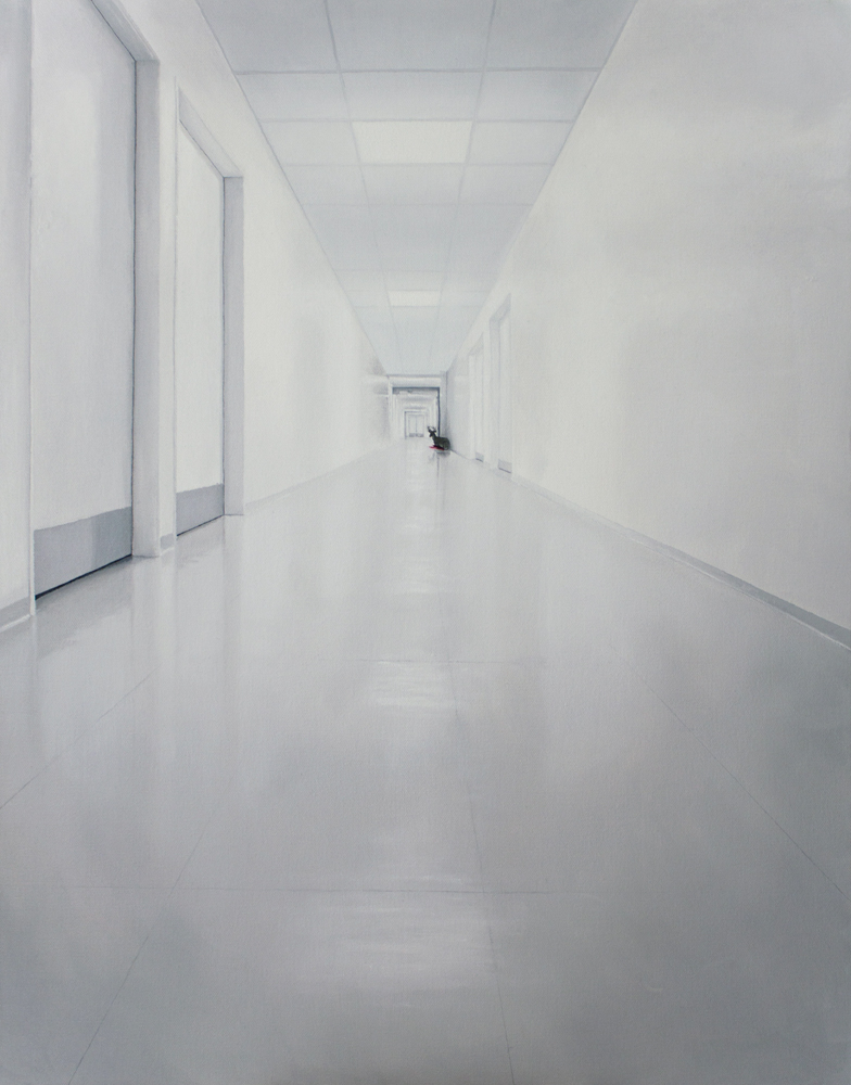 Hallway   oil on canvas   90x70 2012